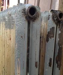Radiadores de hierro fundido - Como limpiar hierro oxidado ...